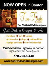 Ad design Canton, GA HOA newsletter