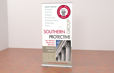 Atlanta Trade Show banner designs and printing - Southern Protective Group