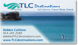 Atlanta's TLC Destinations Business Card