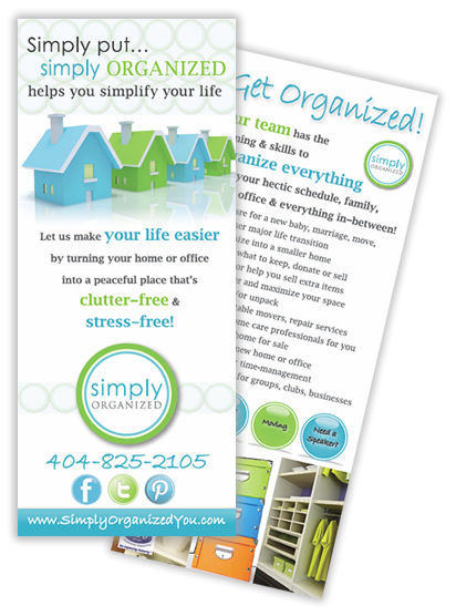 Atlanta rack card design and rack card printing